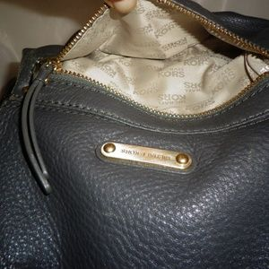 MICHAEL Michael Kors Bags - Michael Kors Gray Pebbled Leather Large Tote Bag